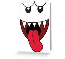 Boo Greeting Card