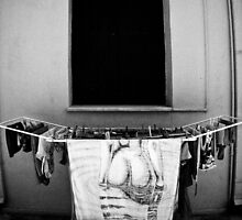 Behind the Towel - Rethymno, Greece by Sophie Gonin