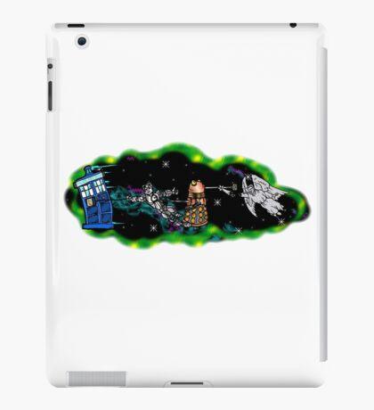 Tardis in Tow iPad Case/Skin