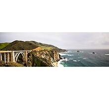 Pacific Coast Hwy - California, US Photographic Print