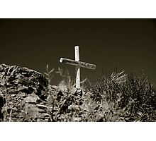 Old Rugged Cross Photographic Print
