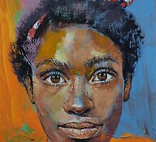 Portrait of Toni by Michael Creese