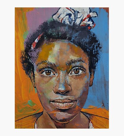 Portrait of Toni Photographic Print