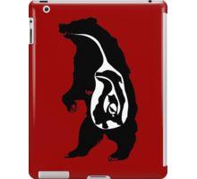 Secret life of predators , bear, cat, dog, bird iPad Case/Skin