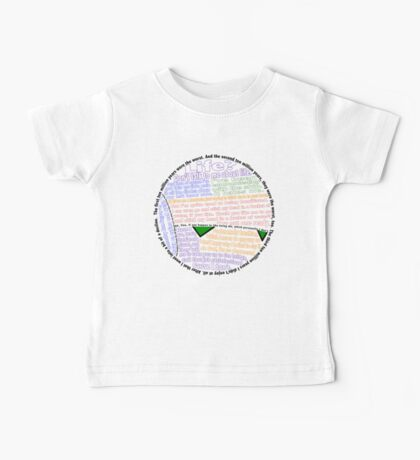 Hitchhiker's Guide Marvin Quotes Baby Tee