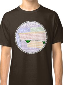 Hitchhiker's Guide Marvin Quotes Classic T-Shirt