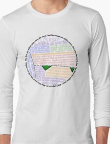Hitchhiker's Guide Marvin Quotes Long Sleeve T-Shirt