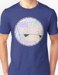 Hitchhiker's Guide Marvin Quotes Unisex T-Shirt