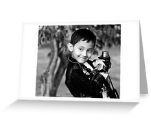 I am a Photographer Too!!!!! Greeting Card