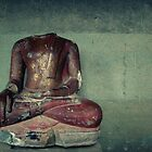 Red Buddha by Caroline Fournier