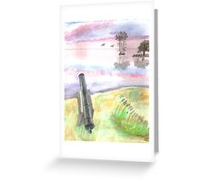 Silent Canon Greeting Card