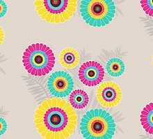 Multicoloured Floral Print by Hopasholic