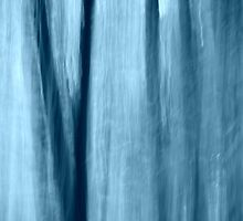 Blue abstract #2 by Laurie Minor