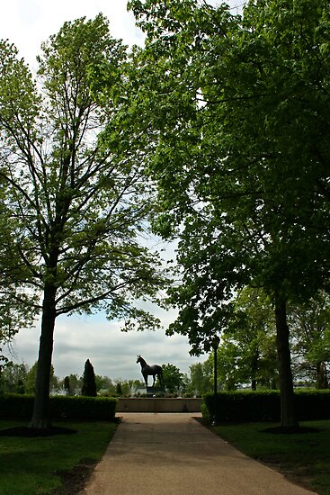 Man O' War Memorial by Victoria DeMore