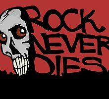 Rock never dies by Logan81