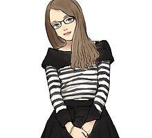 Lady Cute School Girl ! by rootstock