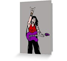 Forever rock Greeting Card