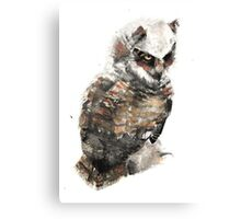 Owl just keep my eye on you. Canvas Print