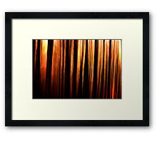 In the forest #3 Framed Print