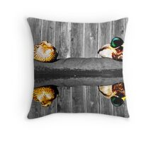 The color of Nature Throw Pillow