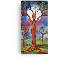 Moon Goddess Canvas Print