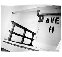Guarding Avenue H Poster
