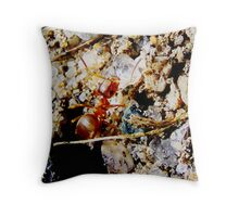 Little Ant. Throw Pillow