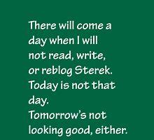 Read Write or Reblog Sterek Unisex T-Shirt