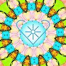 Healing mandala 6 by Lilaviolet