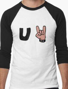 U Rock Men's Baseball ¾ T-Shirt
