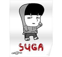 BTS - Suga Hiphop Monster Poster