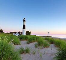 Summer Evening at Big Sable Point Lighthouse - Ludington Michigan by Craig Sterken