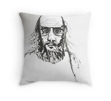 Self Indulgence = Small Pupils - Self Portrait Throw Pillow