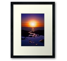 To Take This Path Framed Print