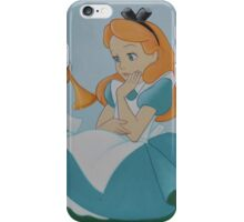 Disney Alice In Wonderland, Disney Cheshire Cat, Mad Hatter iPhone Case/Skin