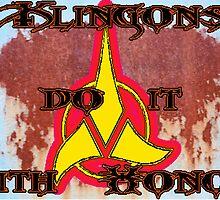 Klingon Poster by KirneH001