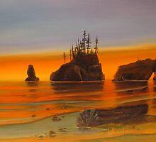 West Coast Sunset by Wayne2015