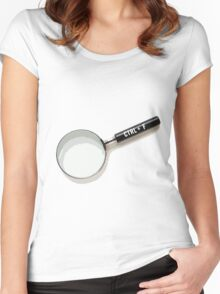 Ctrl+F Women's Fitted Scoop T-Shirt