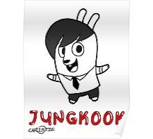 BTS - Jungkook Hiphop Monster Poster
