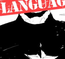 Age of Ultron - Language Sticker