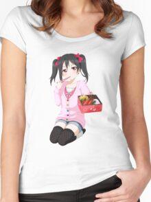 Love Live! Nico Yazawa Women's Fitted Scoop T-Shirt