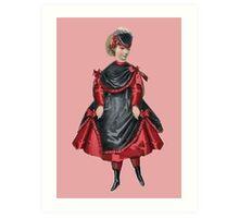 Victorian Designs: Fashion Plates from 1850-1899 Art Print