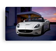 2011 Ferrari California '3Q Driver Side' Canvas Print