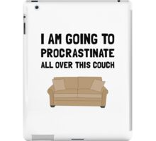 Procrastinate Couch iPad Case/Skin