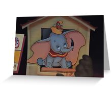 Disney Dumbo Baby Elephant Disney Magic Feather Character Greeting Card