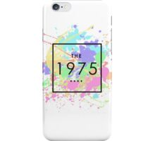 The 1975 Paint Splatter Tumblr  iPhone Case/Skin