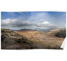 Standing crag view Poster
