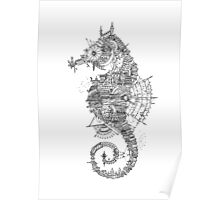 Seahorse City Poster