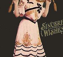 Vintage Lady  by Roberta  Barnes