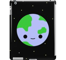 Cute earth and stars iPad Case/Skin